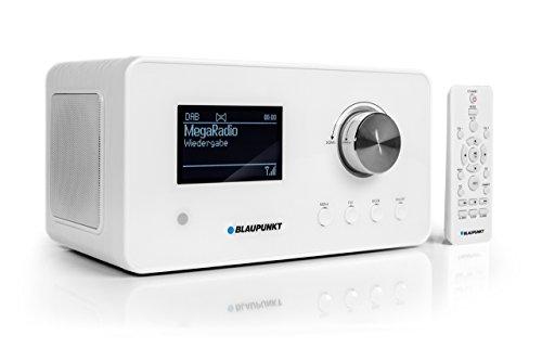 Blaupunkt IRD 30 Internetradio (DAB, Digitalradio mit wecker, Wlan Küchenradio als Badradio,UKW-Tuner, Miniradio in Retro-Design, Uhrenradio)