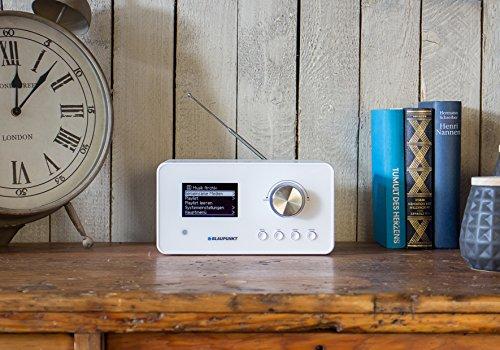 Blaupunkt IRD 30 Internetradio (DAB, Digitalradio mit wecker, Wlan Küchenradio als Badradio,UKW-Tuner, Miniradio in Retro-Design, Uhrenradio) - 3