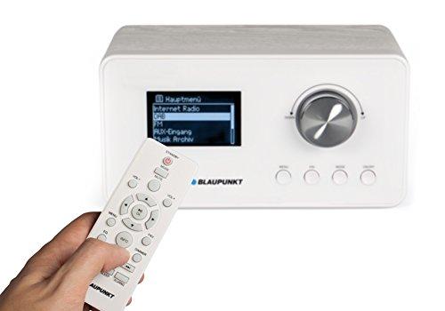 Blaupunkt IRD 30 Internetradio (DAB, Digitalradio mit wecker, Wlan Küchenradio als Badradio,UKW-Tuner, Miniradio in Retro-Design, Uhrenradio) - 4