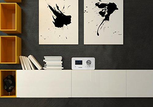 Blaupunkt IRD 30 Internetradio (DAB, Digitalradio mit wecker, Wlan Küchenradio als Badradio,UKW-Tuner, Miniradio in Retro-Design, Uhrenradio) - 10