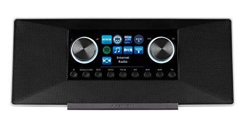 MEDION LIFE P85135 MD 87990 7,1 cm (2,8 Zoll TFT-Display) WLAN Internet-Radio, 2×6 W RMS, DLNA-/UPnP, DAB+, FM/UKW, LAN, USB 2.0, AUX, Spotify, weiß - 3