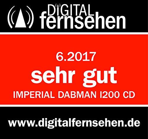 Imperial 22-236-00 Dabman i200 Internet-/DAB+ Radio mit CD-Player (Stereo Sound, UKW, WLAN,  Aux In, Line-Out, Kopfhörer Ausgang, Inklusiv Netzteil) schwarz - 4