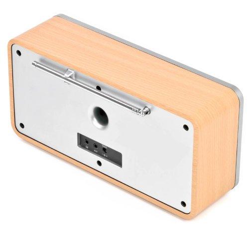 Dual RadioStation IR 6S Digitalradio (UKW, DAB+, Internetradio-Tuner, Wireless-LAN, LCD-Display, AUX-In) braun - 10