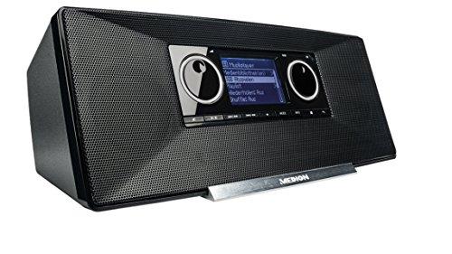 MEDION LIFE P85035 (MD 87090) WLAN Internet Radio mit DAB+ (UKW, DAB+, WLAN, DLNA, UPnP, 2 x 5 Watt, Weckfunktion) schwarz - 2