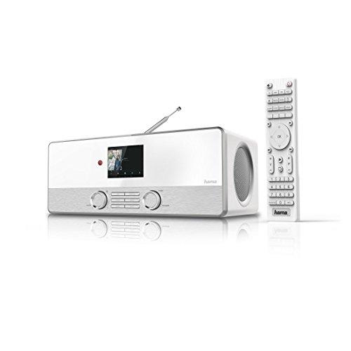 Hama Internetradio Digitalradio DIR3110M (WLAN/LAN/DAB+/FM, Fernbedienung, USB-Anschluss mit Lade- und Wiedergabefunktion, 2,8 Zoll-Farbdisplay, Wi-Fi Streamingfunktion, Multiroom, gratis Radio App) weiß - 11