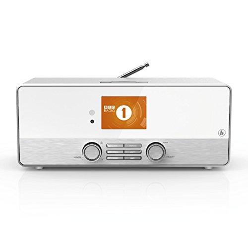 Hama Internetradio Digitalradio DIR3110M (WLAN/LAN/DAB+/FM, Fernbedienung, USB-Anschluss mit Lade- und Wiedergabefunktion, 2,8 Zoll-Farbdisplay, Wi-Fi Streamingfunktion, Multiroom, gratis Radio App) weiß - 12