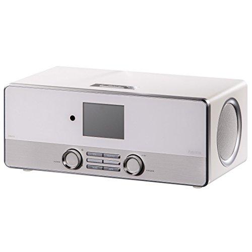 Hama Internetradio Digitalradio DIR3110M (WLAN/LAN/DAB+/FM, Fernbedienung, USB-Anschluss mit Lade- und Wiedergabefunktion, 2,8 Zoll-Farbdisplay, Wi-Fi Streamingfunktion, Multiroom, gratis Radio App) weiß - 16