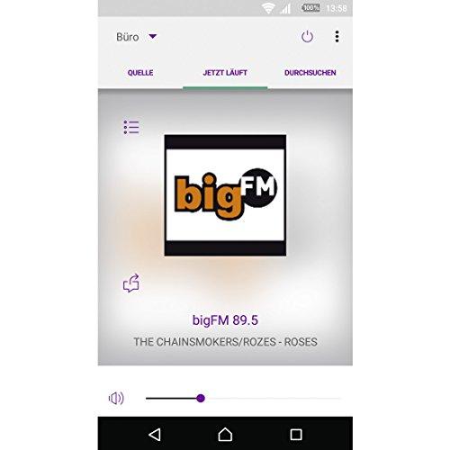 Hama Internetradio Digitalradio DIR3110M (WLAN/LAN/DAB+/FM, Fernbedienung, USB-Anschluss mit Lade- und Wiedergabefunktion, 2,8 Zoll-Farbdisplay, Wi-Fi Streamingfunktion, Multiroom, gratis Radio App) weiß - 9
