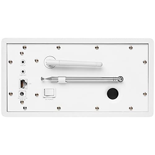 Medion MD 87523 WLAN Internet-Radio (DAB+, UKW, Bluetooth, USB, Spotify, AirPlay, Multiroom, AUX) weiß - 4
