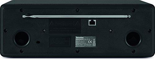 TechniSat DIGITRADIO 361 CD IR Digital-Radio mit CD-Player, Internetradio, DAB+, UKW, CD-Player, USB, Bluetooth, LAN, WLAN, UPnP Audio-Streaming, Wecker, 2 Weckzeiten, Sleeptimer, 2x 5 Watt, anthrazit - 2