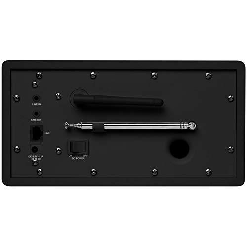 Medion MD 87523 WLAN Internet-Radio (DAB+, UKW, Bluetooth, USB, Spotify, AirPlay, Multiroom, AUX) schwarz - 5