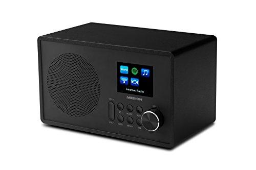 Medion MD 87528 WLAN Internet-UKW Radio (RDS, Spotify, USB, AUX in, DLNA, UPNP) schwarz - 8