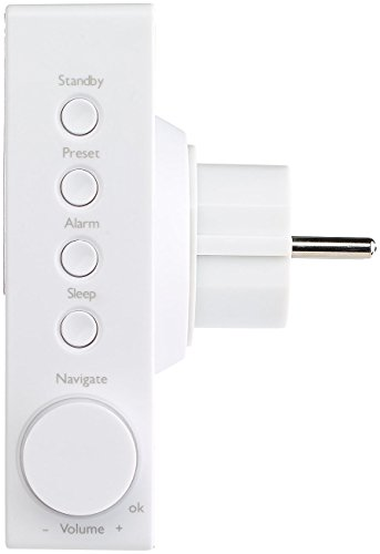 VR-Radio Steckdosenradio: Steckdosen-Internetradio IRS-300 mit WLAN, 6,1-cm-Display, 6 Watt (Steckdosenradio WLAN) - 3