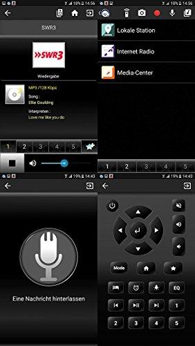 VR-Radio Steckdosenradio: Steckdosen-Internetradio IRS-300 mit WLAN, 6,1-cm-Display, 6 Watt (Steckdosenradio WLAN) - 7