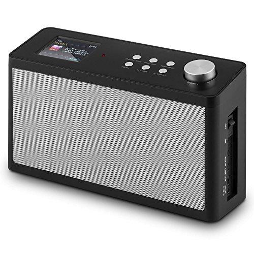 auna KR-200 • Küchenradio • Unterbauradio • DAB / DAB+ Tuner • UKW-Empfänger • Spotify Connect • 10 Senderspeicherplätze • automatischer und manueller Sendersuchlauf • WiFi • AUX • Equalizer • Dual-Alarm • Schlummerfunktion • Fernbedienung • schwarz - 6