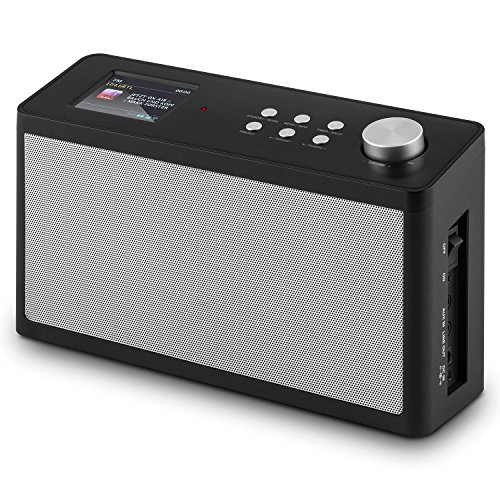auna KR-200 • Küchenradio • Unterbauradio • DAB / DAB+ Tuner • UKW-Empfänger • Spotify Connect • 10 Senderspeicherplätze • automatischer und manueller Sendersuchlauf • WiFi • AUX • Equalizer • Dual-Alarm • Schlummerfunktion • Fernbedienung • schwarz - 5