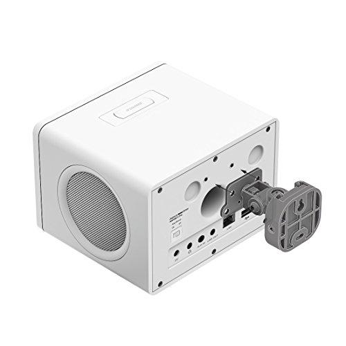 Hama Internetradio IR111MS (WLAN/LAN, Fernbedienung, USB-Anschluss mit Lade- und Wiedergabefunktion, Weck- und Wifi-Streamingfunktion, Multiroom, gratis Radio App) weiß - 12