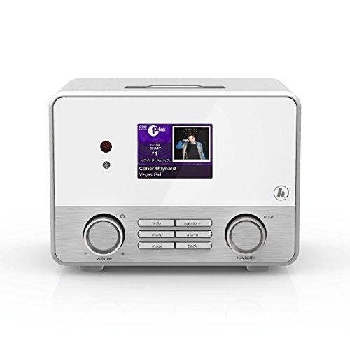 Hama Internetradio IR111MS (WLAN/LAN, Fernbedienung, USB-Anschluss mit Lade- und Wiedergabefunktion, Weck- und Wifi-Streamingfunktion, Multiroom, gratis Radio App) weiß - 14