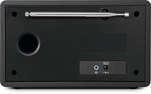 TechniSat DIGITRADIO 301 IR Digital-Radio mit WLAN, Internet-Radio, DAB+, UKW, UPnP-Audio-Streaming, Wecker und Snooze-Funktion, Schwarz - 2