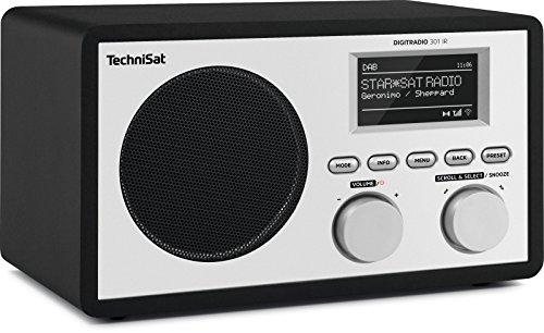 TechniSat DIGITRADIO 301 IR Digital-Radio mit WLAN, Internet-Radio, DAB+, UKW, UPnP-Audio-Streaming, Wecker und Snooze-Funktion, Schwarz - 3