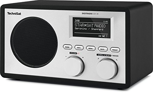 TechniSat DIGITRADIO 301 IR Digital-Radio mit WLAN, Internet-Radio, DAB+, UKW, UPnP-Audio-Streaming, Wecker und Snooze-Funktion, Schwarz - 4