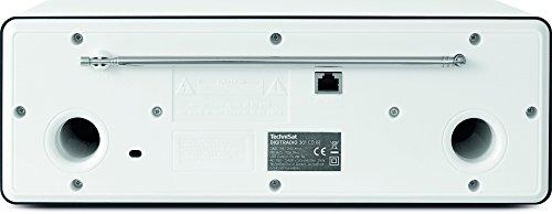 TechniSat DIGITRADIO 361 CD IR Digital-Radio mit CD-Player, Internetradio, DAB+, UKW, CD-Player, USB, Bluetooth, LAN, WLAN, UPnP Audio-Streaming, Wecker, 2 Weckzeiten, Sleeptimer, 2 x 5 Watt, Weiß - 2