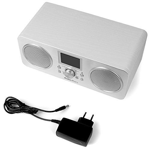 AudioAffairs Internetradio | DAB, Digitalradio mit Wecker & Akku | WLAN Küchenradio | Badradio | UKW-Tuner | Miniradio mit Akku | Uhrenradio – Nur erhältlich auf Amazon.de - 7