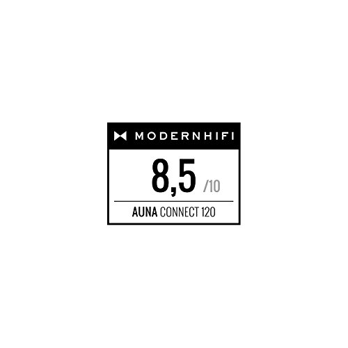 auna Connect 120 WN  Internetradio  Digitalradio  WLAN-Radio  Netzwerkplayer  DAB / DAB+ / UKW-Tuner mit RDS  Bluetooth  MP3-USB-Port  AUX-Eingang  Wecker  Sleep-Timer  TFT-Farbdisplay  Dimmfunktion  Uhrzeitanzeige  Holzfurnier  walnuss - 2