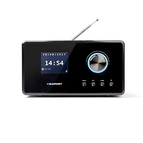 Blaupunkt IRD 300 WLAN Internet Radio, DAB+, Bluetooth, UKW-Empfang, Küchen- Oder Büroradio, Radiowecker und Uhrenradio, Farb-Display mit App-Funktion, Miniradio inkl. Fernbedienung, Schwarz - 2
