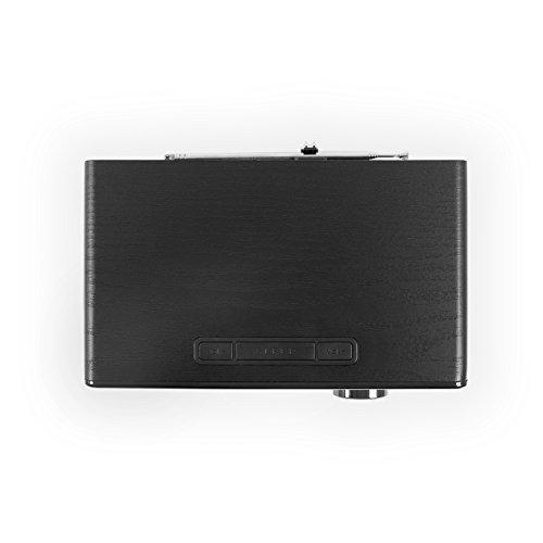 Blaupunkt IRD 300 WLAN Internet Radio, DAB+, Bluetooth, UKW-Empfang, Küchen- Oder Büroradio, Radiowecker und Uhrenradio, Farb-Display mit App-Funktion, Miniradio inkl. Fernbedienung, Schwarz - 4