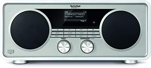 TechniSat Digitradio 600 Internetradio (Spotify, WLAN, LAN, DAB+, DAB, UKW, CD-Player, Bluetooth, Radiowecker, Wifi-Streamingfunktion, Multiroom, 2 x 20 Watt Lautsprecher, 30 Watt Subwoofer) weiß