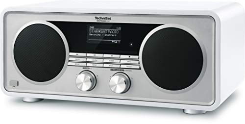 TechniSat Digitradio 600 Internetradio (Spotify, WLAN, LAN, DAB+, DAB, UKW, CD-Player, Bluetooth, Radiowecker, Wifi-Streamingfunktion, Multiroom, 2 x 20 Watt Lautsprecher, 30 Watt Subwoofer) weiß - 3