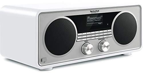 TechniSat Digitradio 600 Internetradio (Spotify, WLAN, LAN, DAB+, DAB, UKW, CD-Player, Bluetooth, Radiowecker, Wifi-Streamingfunktion, Multiroom, 2 x 20 Watt Lautsprecher, 30 Watt Subwoofer) weiß - 4
